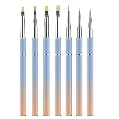 pinceles para decoración de uñas