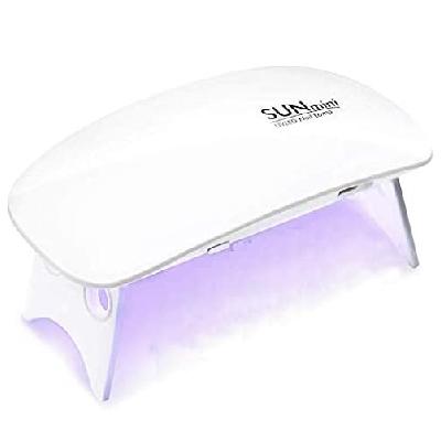 Lámpara LED UV Uñas 6W portátil